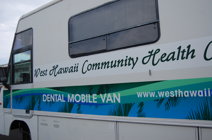 Hawaii Mobile Dental Van Wrap