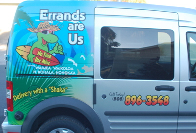 Ford Transit Wrap Errands Are Us