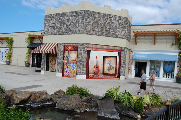 Wall Vinyl Wall Murals For Shopping Centers
