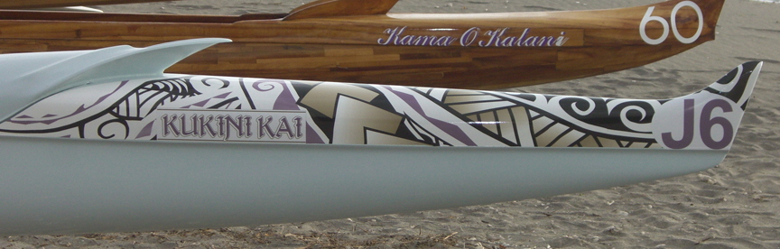 Stern? of Waikoloa Canoe Club Wrap
